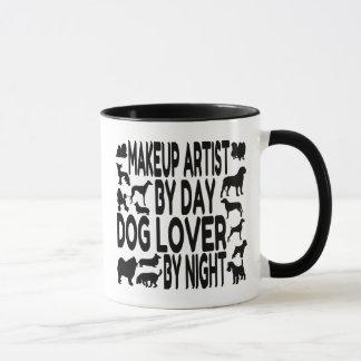 Dog Lover Makeup Artist Mug