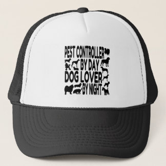 Dog Lover Pest Controller Trucker Hat
