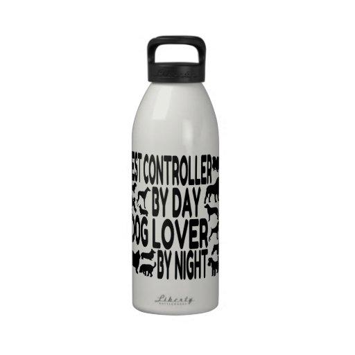 Dog Lover Pest Controller Water Bottles