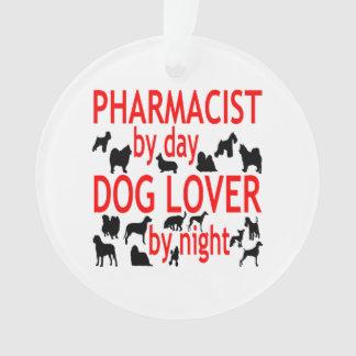 Dog Lover Pharmacist in Red