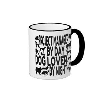 Dog Lover Project Manager Ringer Mug