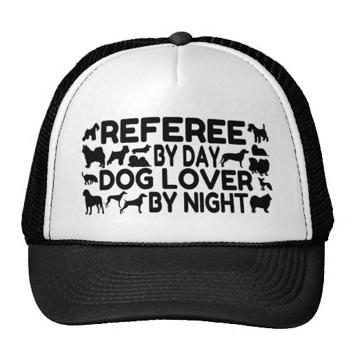 Dog Lover Referee Hats