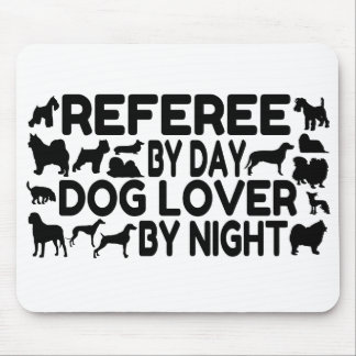 Dog Lover Referee Mouse Pad