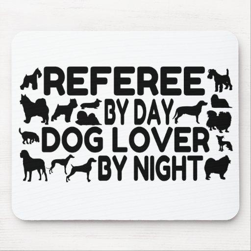 Dog Lover Referee Mousepad