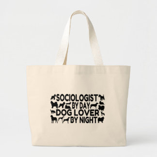 Dog Lover Sociologist Tote Bag