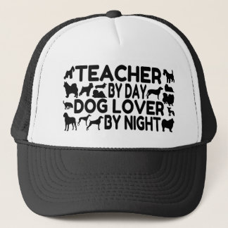 Dog Lover Teacher Trucker Hat