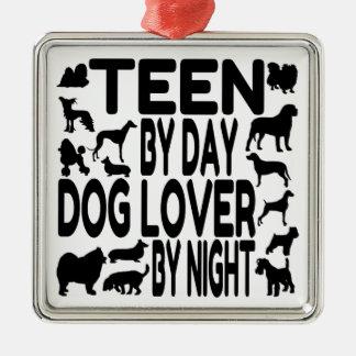 Dog Lover Teen Christmas Ornament
