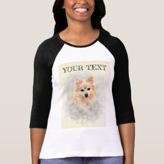 Dog lover top! Ginger Pomeranian Dog T-Shirt