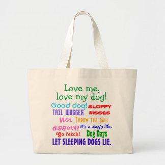 Dog Lover Tote Bag