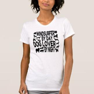 Dog Lover Windsurfer Tee Shirt