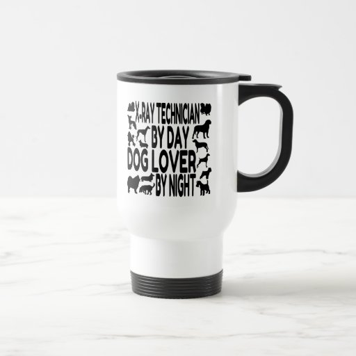 Dog Lover X-Ray Technician Mug