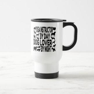 Dog Lover Yoga Instructor Travel Mug