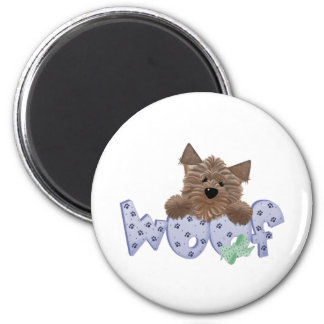 Dog Lovers 6 Cm Round Magnet