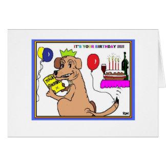 dog lovers card