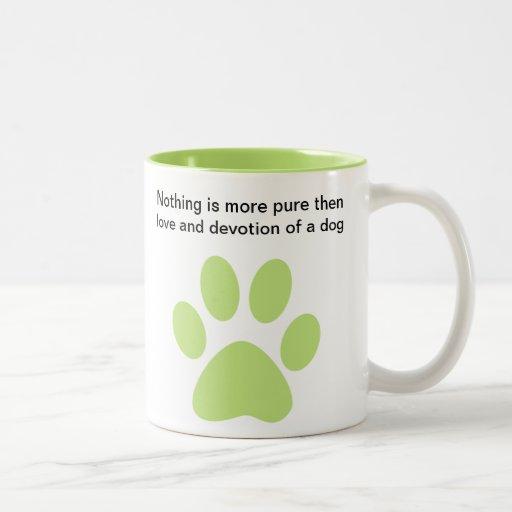 Dog Lovers Creed Coffee Mugs