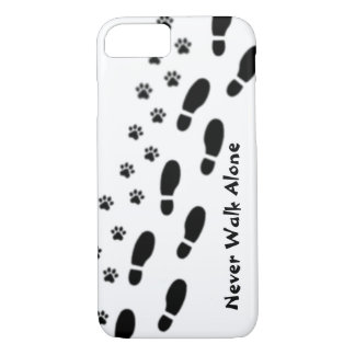 Dog Lover's Never Walk Alone iPhone 7 Case