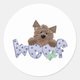 Dog Lovers Round Sticker