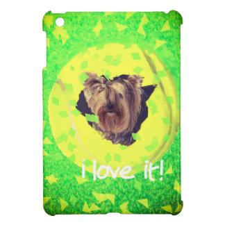 dog loves tennis. iPad mini cover