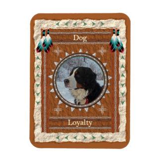 Dog  -Loyalty- Vinyl Flexi Magnet