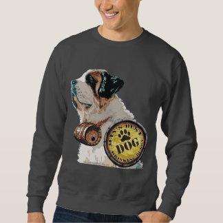Dog Man's Drinking Buddy Sweatshirt