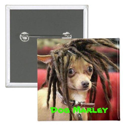 Dog Marley button