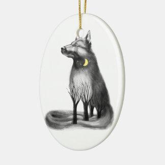 Dog - mascot, graphics. christmas ornament