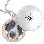 Dog Memorial Custom Photo Locket Lockets