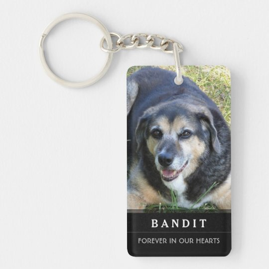 Dog Memorial KeyChain Do Not Mourn My Passing