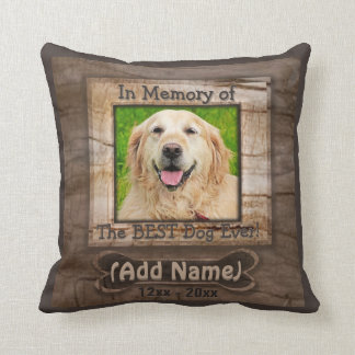 Dog Memorial Pillow Cushion