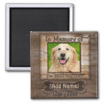 Dog Memorial Square Magnet