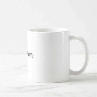 dog mom classic simple coffee mug