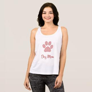 Dog Mom Style Cursive Tank Top