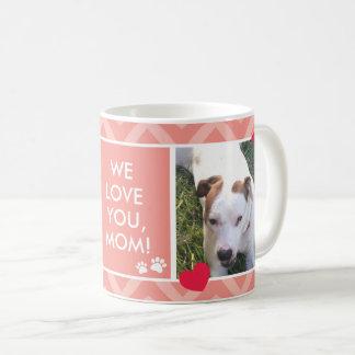Dog Moms I/We Love You Custom Photo Mug