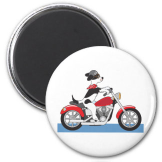 Dog Motorcycle Magnets