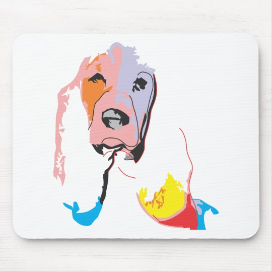Dog Mouse Mat