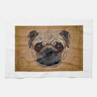 Dog Mozaic Kitchen Towel