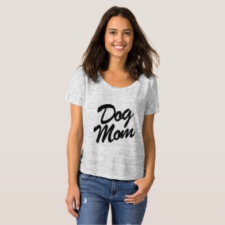 Dog Mum Slouchy Boyfriend Tee