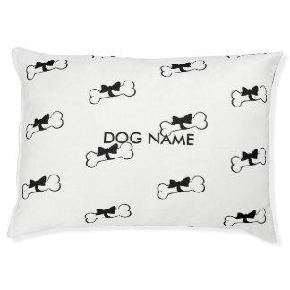 Dog Name Bone Dog Bed Big