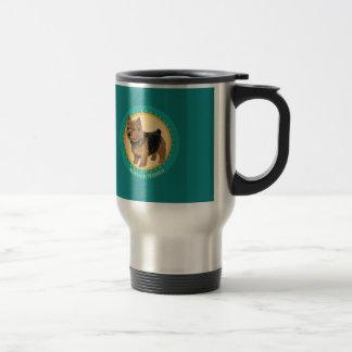 Dog norwich terrier travel mug