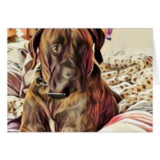 Dog Notecard