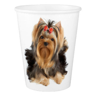 Dog of show class paper cup