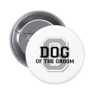 Dog of the Groom Cheer 6 Cm Round Badge