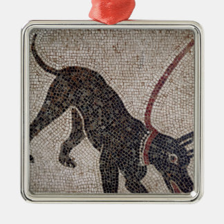 Dog on a leash, from Pompeii Christmas Ornament