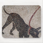 Dog on a leash, from Pompeii Mouse Pad