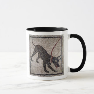 Dog on a leash, from Pompeii Mug