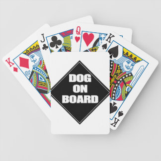 Dog on Board Deck Of Cards