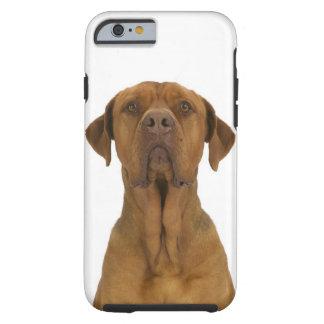 Dog on White 38 Tough iPhone 6 Case
