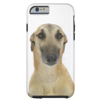 Dog on White 41 Tough iPhone 6 Case