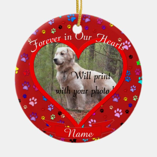 Dog or Cat Pet Memorial Christmas Christmas Ornament