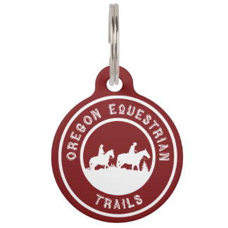 Dog or halter tag pet ID tags